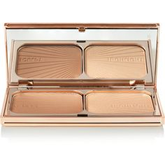 Charlotte Tilbury Filmstar Bronze & Glow - Fair/Medium, 16g ($59) ❤ liked on Polyvore featuring beauty products, makeup, beauty, cosmetics, faces, filler, tan and highlight makeup