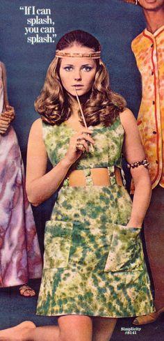 Model Cheryl Teigs in 1969.