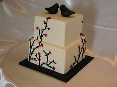 This Cake Artist has great talent! Simple yet stunning!