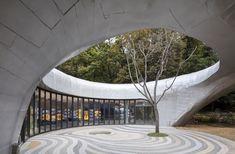 Gallery of Pino Familia / Moon Hoon – 2 – Entwurf Museum Architecture, Landscape Architecture, Architecture Design, Casa Patio, Diy Patio, Patio Steps, Patio Bar, Patio Seating, Backyard Patio