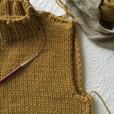 I'm pretty sure the first person to ever clue me in on this one was my pal Meg Strong. A lot of times there will be an edge of your knitting that's exposed — say, the long sides of a sc…