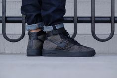 Air Force 1 Ultra Flyknit Mid Palm Green/Black-White