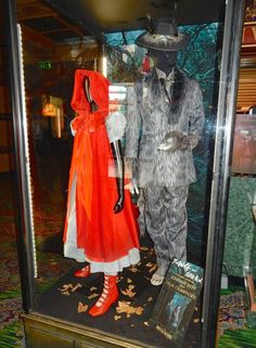 Red Riding Hood and The Wolf Into the Woods movie costumes