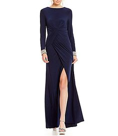 Vince Camuto Social Rhinestone Gown #Dillards