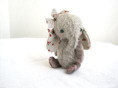 PATTERN to create Teddy like Pastel Elefant 16 cm 6 von zverrriki, £9.00