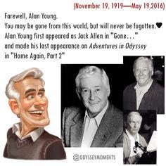 In Memory of Alan Young (November 19, 1919—May 19,2016) | Adventures in Odyssey | Jack Allen