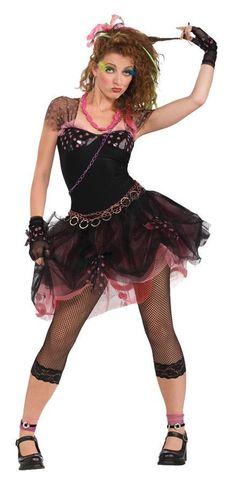 80's Diva Adult Costume Pop Star Costumes, 80s Halloween Costumes, Adult Costumes, Costumes For Women, Adult Halloween, Halloween Party, 1980s Costume, Awesome Costumes, Homemade Halloween