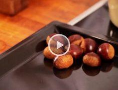 In diesem Video zeigt Ihnen Aaron Waltl: Woran man frische Maroni erkennt. Wie Sie zuhause selbst Maroni braten. Wieso man beim Braten der Maroni Griddle Pan, Health Fitness, Snacks, Fruit, Kitchen, Desserts, Christmas Recipes, Yum Yum, Food