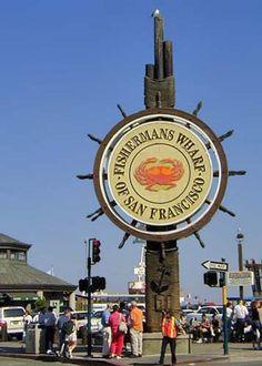 San Francisco Fisherman's Wharf Photo Tour: Fisherman's Wharf Sign