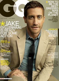 Jake Gyllenhaal has so much style and class. And general awesomeness.