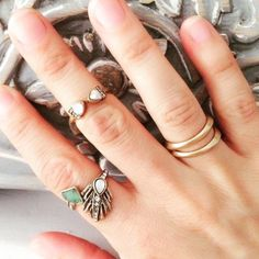 Statement Ring It's all in the delicate details. Set in a wear anywhere shimmering design this piece catches the light and creates an edgy look for everyday wear. Slightly adjustable by a half size up or down. Hypoallergenic, lead and nickel free. Ocean Jewelers Jewelry