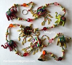 Decorative Wall Window Door Elephant Hanging String with Bell - Hand Made and Painted MWgifts http://www.amazon.co.uk/dp/B011RM0BTO/ref=cm_sw_r_pi_dp_BHbRvb1AJ3XCP