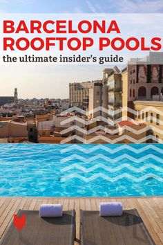 If you're looking for the best rooftop pools in Barcelona, you've come to the right place. Here's where you can cool off, chill out and enjoy a great view. Barcelona Travel, Barcelona Spain, Places In Europe, Places To Go, Travel Guides, Travel Tips, Spanish Culture, Lakefront Homes, Rooftop Pool