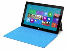 """Wow! Didn't expect this. The press is raving about this new tablet, called the """"Surface"""". Very impressive specs. It even comes with a cover that is also a keyboard. Might actually be a big hit and give the iPad a run for its money."""