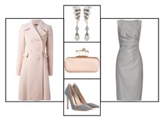 """Outfit # 2602"" by voltinimiriam ❤ liked on Polyvore featuring Miriam Haskell, Alexander McQueen, Gianvito Rossi and MaxMara"