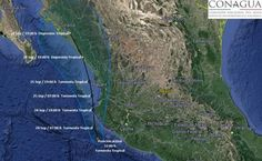 Alertan por Pilar, nueva tormenta tropical en el Pacífico | El Puntero