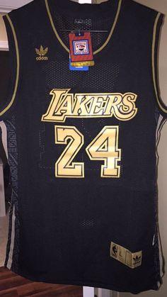 New! La Angeles Lakers #24 Tribute To Kobe Kobe Bryant #NBA Swingmans Jersey Lg from $49.99