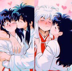 Inuyasha Funny, Inuyasha Fan Art, Inuyasha Love, Inuyasha And Sesshomaru, Kagome Higurashi, Fanarts Anime, Manga Anime, Anime Art, Inuyasha Cosplay