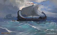 Adriatic pirates, Pawel Kaczmarczyk on ArtStation at https://www.artstation.com/artwork/v5Pb6