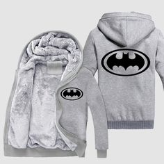 Batman Logo Jacket //Price: $79.00 & FREE Shipping //     #BatmanFansClub