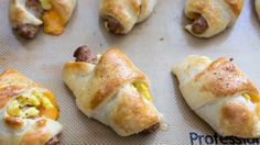 Sausage, Egg & Cheese Roll-Ups