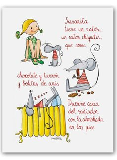 20 Super Ideas For Music Ilustration Children Songs Spanish Classroom, Teaching Spanish, Teaching Kids, Kids Learning, Spanish Songs, Spanish Lessons, How To Speak Spanish, Learn Spanish, Learning Sight Words