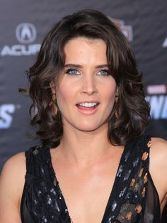 cobie smulders short curly hair - Google Search