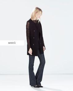 84e8dc62ea Studio Boucle vest from Zara