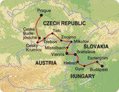 MVZ - PRAGUE TO BUDAPEST RIDE
