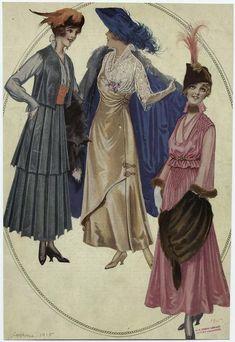 1915 fashion - Pesquisa Google
