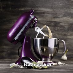 Plumberry Artisan Stand Mixer. Now you can get your Artisan Stand Mixer in this fabulous colour.