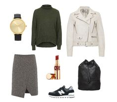 What to Wear: de kleuren wit, grijs en legergroen zorgen voor een mooi kleurcontrast!