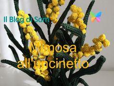 Il Blog di Sam: Spiegazione della Mimosa all'uncinetto