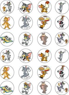 Tom-and-Jerry-Edible-Cupcake-Fairy-Cake-Wafer-Paper-Toppers-x-24