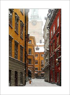 Stockholm~ old town