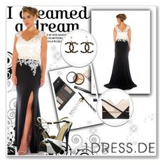 """""""Abendkleider Ballkleider"""" by johnnymuller on Polyvore featuring Borghese, gx by Gwen Stefani, Chanel and Lipsy"""