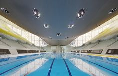 Smooth as Water, Strong as Steel: The Undulating Roof of London's Olympic Pool - Rebecca J. Rosen - The Atlantic