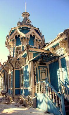 Wooden architecture, Siberia