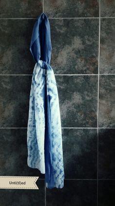 Untied - letting loose - shibori art
