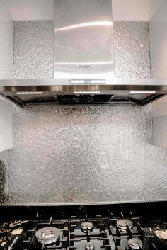 Deep Silver Premium kitchen glass splashback  That's what i want in my kitchen!