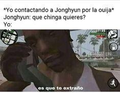 No me repruebe maestra Jonghyun, Shinee, Drama Memes, Kpop, Ouija, Bts Memes, Taehyung, Nct, Kdrama