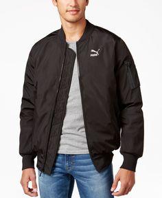 6828b213e76 Puma Men s EVO Bomber Jacket   Reviews - Coats   Jackets - Men - Macy s