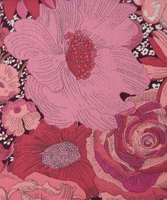 Liberty Art Fabrics English Field D Tana Lawn, $22 per meter