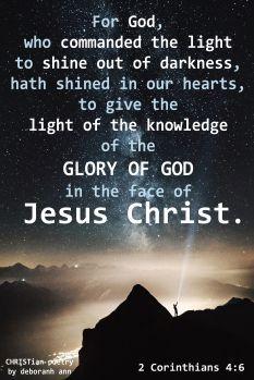 God's Saving Light ~ | CHRISTian  poetry ~ by deborah ann