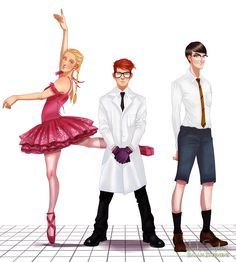 Popular Young Cartoon Characters Reimagined as Adults - Dexter's Laboratory