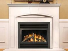 Regency and Gas fireplace logs
