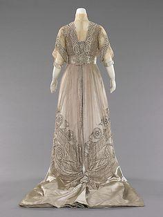 Dress, Evening  (attributed) Mrs. Dunstan  1908-10