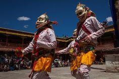 Masked dance, Hemis Tsechu festival