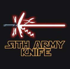 That's what I call a Sith army knife!