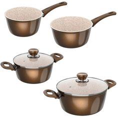 #Töpfe / Pfannen #Genius #24160   Genius Cerafit granite - kitchen utensils Set 6tlg.      Hier klicken, um weiterzulesen.